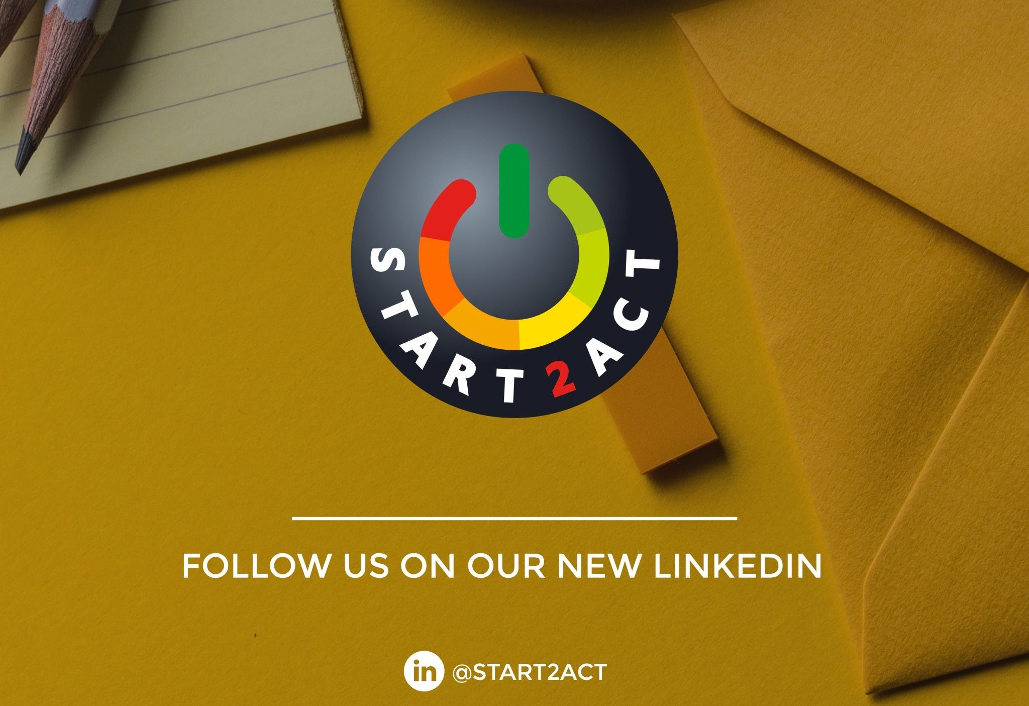 START2ACT is now on LinkedIn for better professional networking!